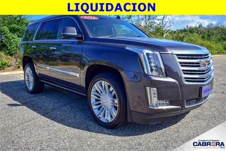 2018 Cadillac Escalade Platinum Edition Arecibo PR