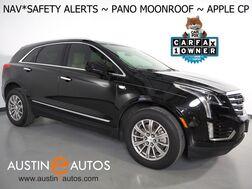 2018_Cadillac_XT5 Luxury_*NAVIGATION, DRIVER AWARENESS PKG, BLIND SPOT & LANE DEPARUTRE ALERT, COLLISION ALERT, PANORAMA MOONROOF, LEATHER, HEATED SEATS, BOSE AUDIO, APPLE CARPLAY_ Round Rock TX