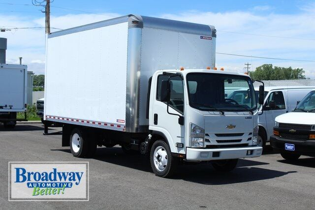 2018 Chevrolet 4500 LCF Gas Dry Freight Van Body