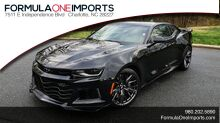 2018_Chevrolet_CAMARO_ZL1 6.2L SUPERCHARGED V8 650 / NAV / SUNROOF / REARVIEW_ Charlotte NC