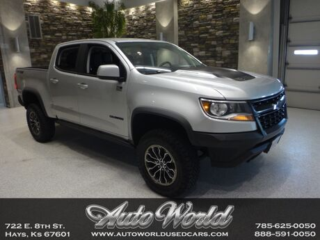 2018 Chevrolet COLORADO ZR2 CREW 4X4  Hays KS