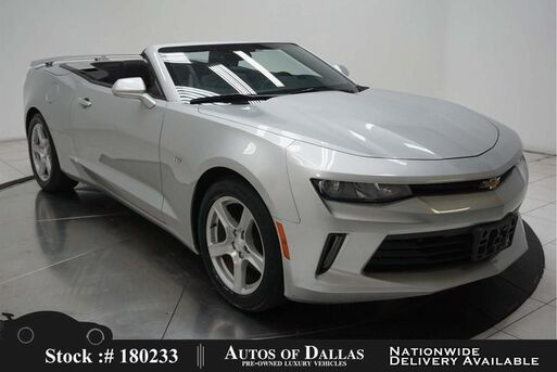 2018_Chevrolet_Camaro_1LT Convertible CAM,KEY-GO,18IN WHLS_ Plano TX