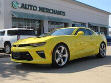2018_Chevrolet_Camaro_1SS Coupe 8A HEADS UP DISPLAY,BLIND SPOT MONITOR,BACK-UP CAMERA,BLUETOOTH,UNDER FACTORY WARRANTY!!_ Plano TX
