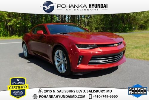 2018_Chevrolet_Camaro_2LT **ONE OWNER**_ Salisbury MD