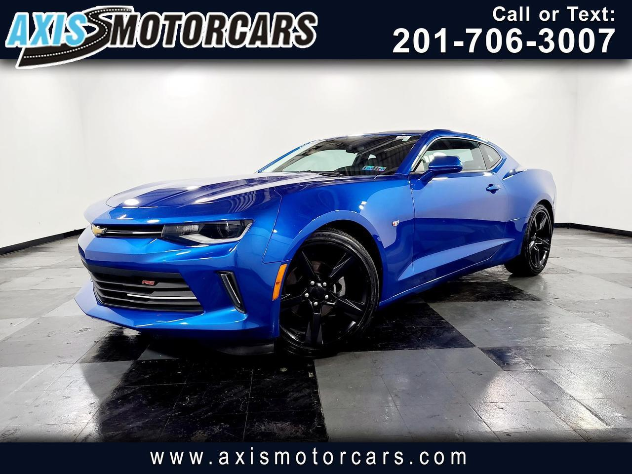 2018 Chevrolet Camaro 2dr Cpe 1LT RS w/Backup Camera Jersey City NJ