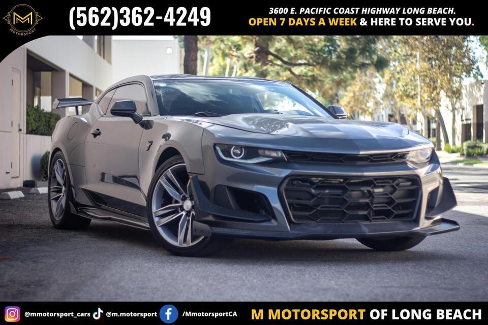 2018_Chevrolet_Camaro_LT Coupe 2D_ Long Beach CA