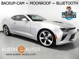 2018_Chevrolet_Camaro SS_*AUTOMATIC, BACKUP-CAMERA, MOONROOF, 20 INCH ALLOYS, REAR SPOILER, BLUETOOTH PHONE & AUDIO_ Round Rock TX