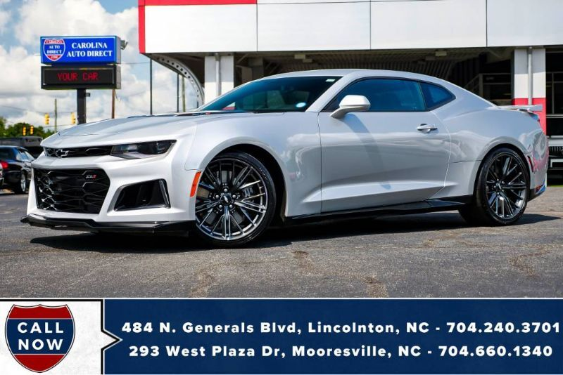 2018 Chevrolet Camaro ZL1 *10-Speed V8* w/ Head-Up Display & NAV (Start-Up Video in Photos) Mooresville NC