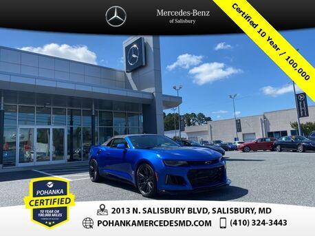 2018_Chevrolet_Camaro_ZL1 LT4 supercharged 6.2L V-8 | 650 hp_ Salisbury MD