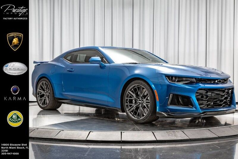 2018_Chevrolet_Camaro_ZL1_ North Miami Beach FL