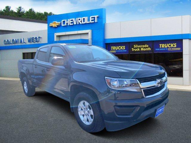 2018 Chevrolet Colorado 2WD Crew Cab 140.5 Work Truck Fitchburg MA