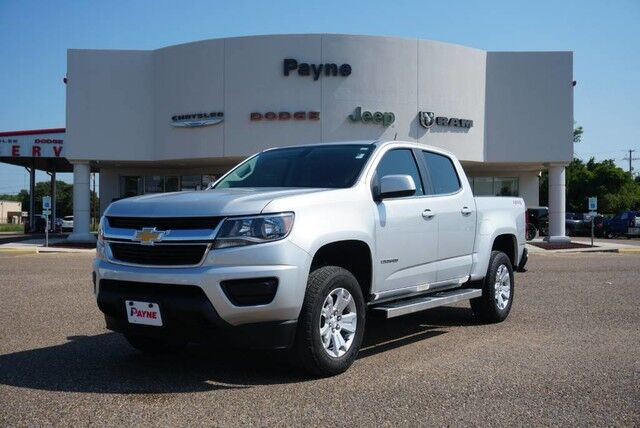 2018 Chevrolet Colorado 4WD LT Rio Grande City TX