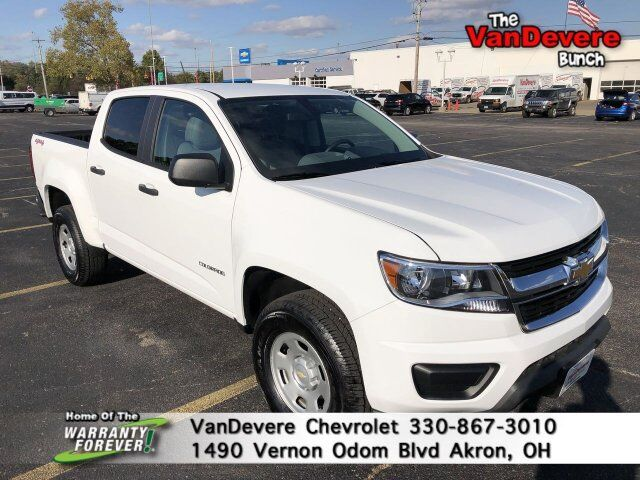 2018 Chevrolet Colorado 4WD Work Truck Akron OH