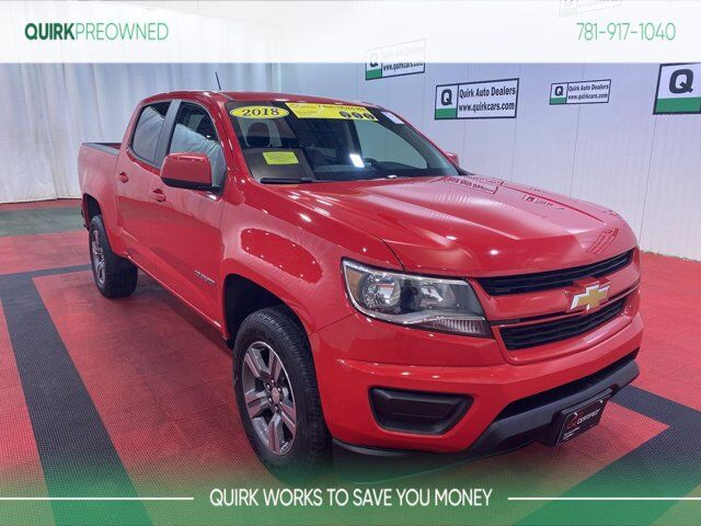 2018 Chevrolet Colorado 4WD Work Truck Braintree MA