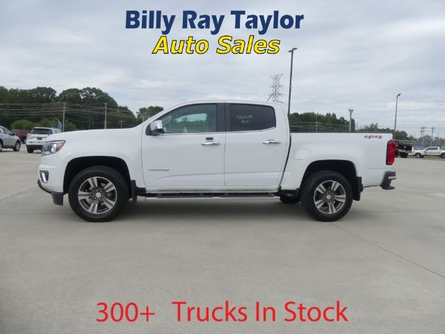 2018 Chevrolet Colorado LT Crew Cab 4WD Short Box Cullman AL