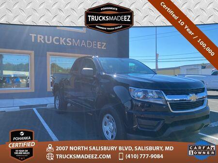 2018_Chevrolet_Colorado_Work Truck ** Pohanka Certified 10 Year / 100,000 **_ Salisbury MD