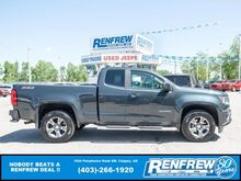 2018_Chevrolet_Colorado_Z71 Ext Cab 4x4, Heated Leather, Remote Start, Backup Cam_ Calgary AB