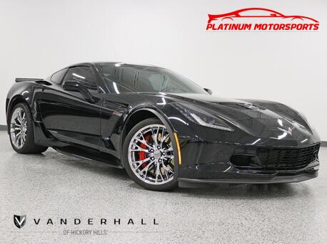 2018_Chevrolet_Corvette Z06_1 Owner Auto Targa HUD Back Up Camera Chrome Factory Wheels Carfax Certified Loaded_ Hickory Hills IL
