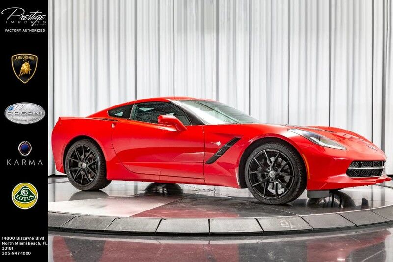 2018 Chevrolet Corvette Z51 3LT North Miami Beach FL