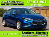 2018 Chevrolet Cruze LT - SUNROOF -BLIND ZONE DETECTION - HEATED CLOTH SEATS Lethbridge AB