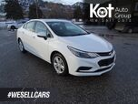 2018 Chevrolet Cruze LT, Low KM's, Heated Seats, Touch Screen, Back-up Camera, Sunroof