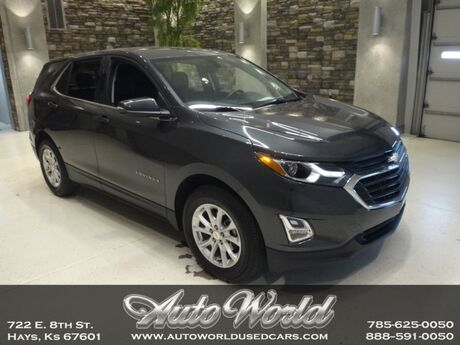2018 Chevrolet EQUINOX LT AWD  Hays KS