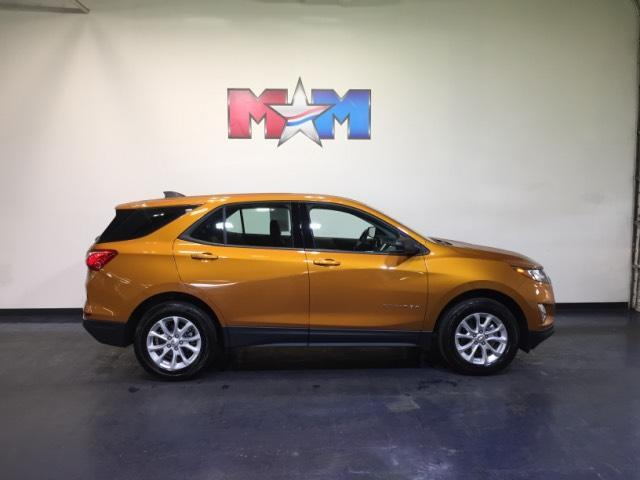 Vehicle details 2018 chevrolet equinox at motor mile kia for Shelor motor mile used
