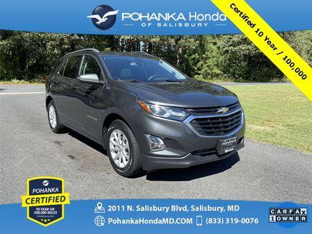 2018_Chevrolet_Equinox_LT ** Pohanka Certified 10 Year / 100,000 **_ Salisbury MD