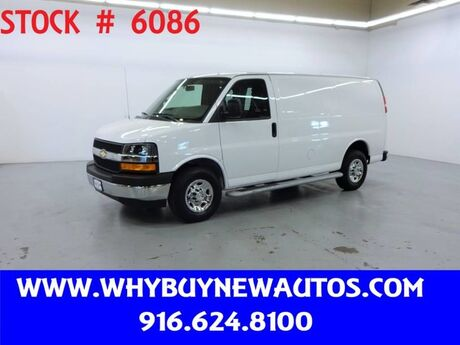 2018 Chevrolet Express 2500 ~ Only 7K Miles! Rocklin CA