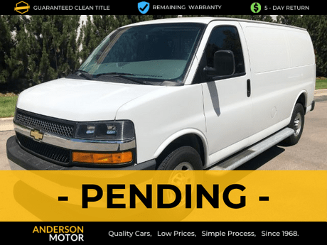 2018 Chevrolet Express 2500 Cargo Salt Lake City UT