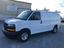 2018_Chevrolet_Express 2500 Cargo w/ Ladder Rack * Bins 6.0L__ Ashland VA
