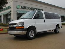 2018_Chevrolet_Express_LT 3500, 12 PASSENGER, BACKUP CAMERA, CRUISE CONTROL, AM/FM/AUX/USB, CLOTH, AUTO HEADLAMPS_ Plano TX
