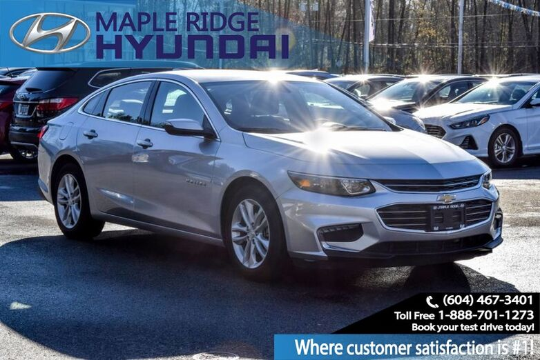 2018 Chevrolet Malibu Bluetooth, Back Up Camera, Power Group, LOW KMS Maple Ridge BC