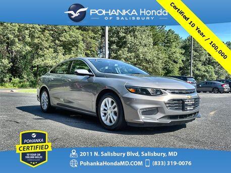 2018_Chevrolet_Malibu_LT ** Pohanka Certified 10 Year / 100,000 **_ Salisbury MD