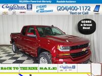 Chevrolet Silverado 1500 * Double Cab LT 4x4 Z71 * True North Edition* HEATED LEATHER * 2018