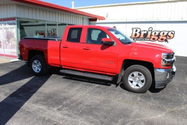 2018 Chevrolet Silverado 1500 4WD Double Cab 143.5 LT w/1LT Fort Scott KS