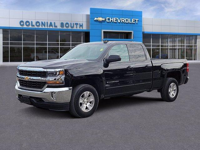 2018 Chevrolet Silverado 1500 4WD Double Cab 143.5 LT w/1LT North Dartmouth MA