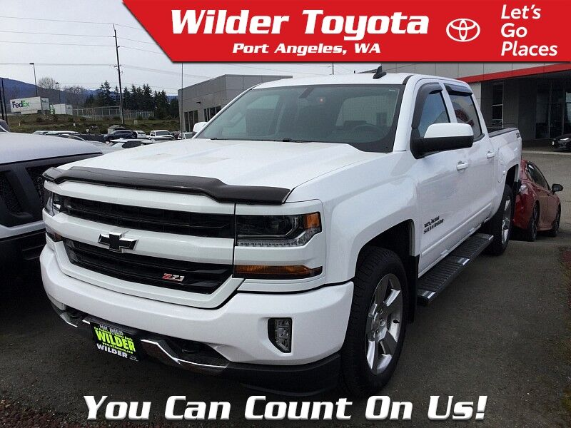 2018 Chevrolet Silverado 1500 4WD LT Port Angeles WA