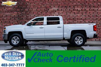 2018_Chevrolet_Silverado 1500_4x4 Crew Cab LT BCam_ Red Deer AB