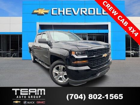 2018_Chevrolet_Silverado 1500_Custom_ Salisbury NC