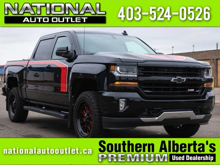 2018 Chevrolet Silverado 1500 LT - Z71 - HEATED LEATHER - APPLE/ANDROID CAR PLAY Lethbridge AB
