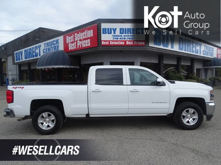 2018 Chevrolet Silverado 1500 LT 5.3L EcoTech V8 4x4 Back-up Camera Kelowna BC