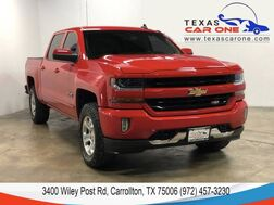2018_Chevrolet_Silverado 1500_LT CREW CAB 4WD Z71 TEXAS EDITION REAR CAMERA BLUETOOTH TOWING HITCH_ Carrollton TX