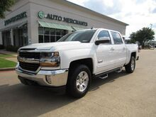 2018_Chevrolet_Silverado 1500_LT Crew Cab 4WD LEATHER, BACKUP CAMERA, NAVIGATION, BLUETOOTH CONNECTIVITY, CLIMATE CONTROL, TPMS_ Plano TX