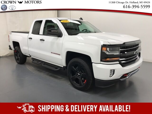 2018 Chevrolet Silverado 1500 LT Z71-REDLINE PACKAGE Holland MI