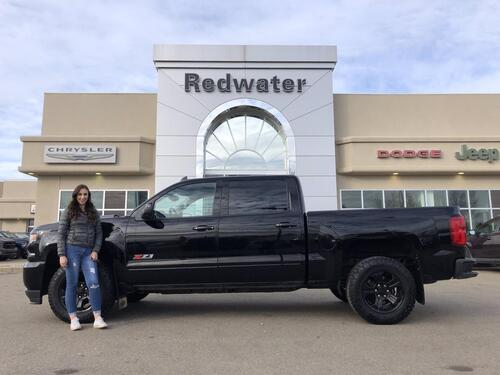 2018_Chevrolet_Silverado 1500_LTZ - 6.2 Litre - Leather - Sunroof - 53,792 Km_ Redwater AB