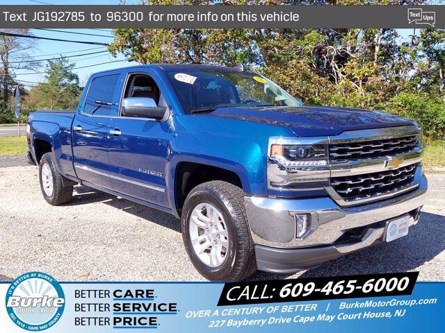 2018 Chevrolet Silverado 1500 LTZ South Jersey NJ