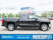 2018_Chevrolet_Silverado 1500_LTZ Crew Cab 4x4, LOW KMS! Heated Leather, Remote Start, Backup Camera_ Calgary AB