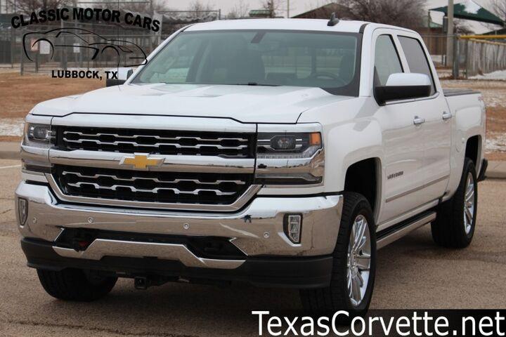 2018 Chevrolet Silverado 1500 LTZ Lubbock TX