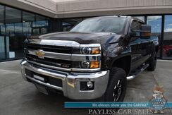 2018_Chevrolet_Silverado 2500HD_LT / Z71 Off-Rd / 4X4 / Crew Cab / 6.0L V8 / Auto Start / Power Driver's Seat / Seats 6 / Navigation / Bose Speakers / Bluetooth / Back Up Camera / Bed Liner / Tonneau Cover / Light Bars / Tow Pkg / 1-Owner_ Anchorage AK